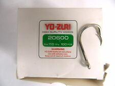 1 Confezione ami YO-ZURI 20600 size 7/0 Q'ty 100pcs HIGH QUALITY HOOKS pesca w38