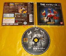 KAMEN RIDER THE BIKE RACER Ps1 Versione NTSC Giapponese ○○○ USATO - BK