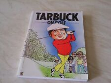 JIMMY TARBUCK HAND SIGNED BOOK - GOLF