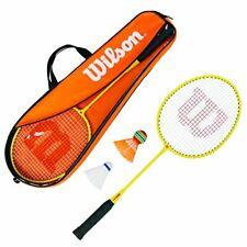 Wilson Kit da Badminton per Bambini, 2 Racchette e 2 volani, per (Z8Q)