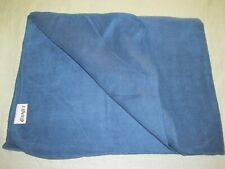 CANJET Canada Airline blanket plush blue fleece travel couch throw