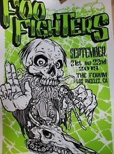 New listing Foo Fighters Poster - The Forum, Los Angeles - Sep. 21st and 22nd - #239/280