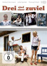 Drei sind einer zuviel - Die komplette Serie NEU OVP 2 DVDs