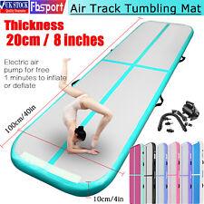 Fbsport 3-7m Airtrack AirTrack Gymnastics Tumbling Aufblasbare Übung Matte Pumpe