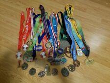 Marathon 10k 5k Medals lot of 26