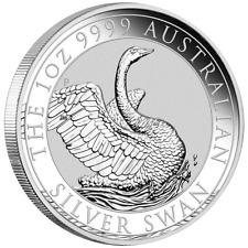 Australien - 1 Dollar 2020 - Schwan - Premium-Anlagemünze - 1 Oz Silber ST