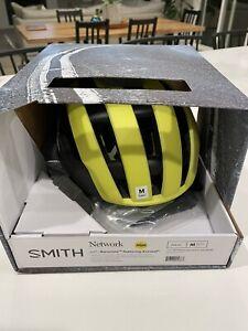 Smith Optics Network MIPS Helmet Medium Matte Neon Yellow Viz