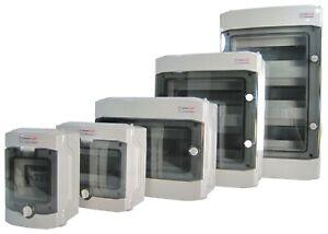 Sicherungskasten Feuchtraum-Verteiler Verteilerkasten Feuchtraum Aufputz IP65💦