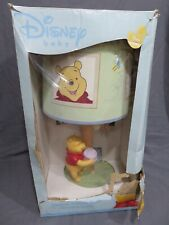 New Disney Baby Winnie the Pooh Honey Pot Under Tree Nursery Lamp with Shade