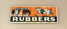 90er Kühlschrank-Magnet Goodrich Rubbers / emailliert / fridge magnet