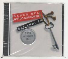 BANCO DEL MUTUO SOCCORSO GLI ANNI 70 - 2 CD SIGILLATO!!