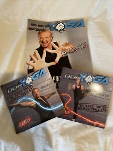 DDP Diamond Dallas Page Yoga 4 Dvds Book And Poster
