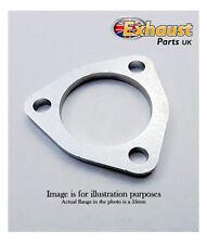 "76mm 3"" Stainless Steel 304 Exhaust Flange 3 Bolt Triangular Custom Universal"