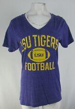 LSU Tigers NCAA Women's Purple #7 Funbags T-Shirt