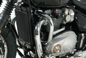Triumph Bonneville Speedmaster Engine Guard - Chrome HEPCO & BECKER (From 2018)