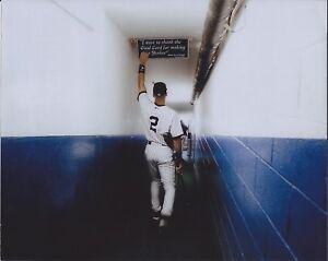 """Derek Jeter - 11"""" x 14"""" Photo - Yankee Stadium - New York - Joe DiMaggio Quote"""