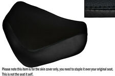 BLACK STITCH CUSTOM FITS SUZUKI VZ 800 MARAUDER 96-01 FRONT LEATHER SEAT COVER