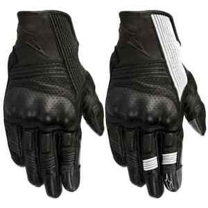 Alpinestars Mustang v2 Mens Leather Street Riding Racing Road Motorcycle Gloves