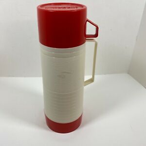 Vintage Aladdin Thermos #2650A Bottle #243 Cup #31 Stopper #032C Filler USA