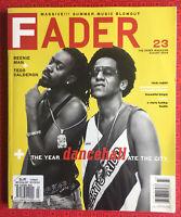Fader magazine #23 August 2004 Beenie Man, Tego Calderon, Beastie Boys, Rick Rub