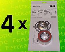 4 x ALKO Radlager 1224803 Lager 72/39x37 mm + Zubehör - Kompaktlager Ecolager