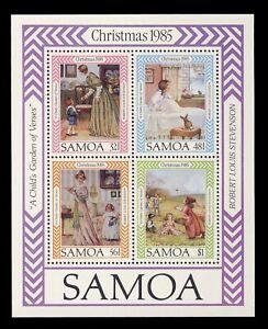 Samoa 02  Sc#659A  1985  ART  MNH