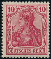 DR 1913, MiNr. 86 I d, tadellos postfrisch, Attest Jäschke-L., Mi. 500,-