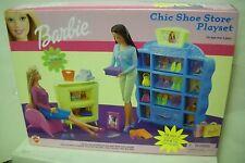 #3215 Nrfb Mattel Barbie Chic Shoe Store Playset