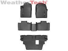 WeatherTech Floor Mat FloorLiner - Dodge Durango - w/Bench - 2013-2015 - Black