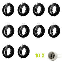 10 X Foco Empotrado Marco LED GU10 MR16 de Techo