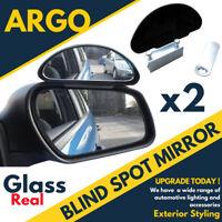 2 X Adjustable Car Van Blind Spot Blindspot Towing Reversing Driving Mirror