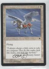 1997 Magic: The Gathering - Tempest Booster Pack Base #NoN Armored Pegasus 0a0