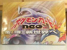 Japanese Pokémon Neo Genesis Booster Box - SEALED - (60 Packs) + FREE BONUS!