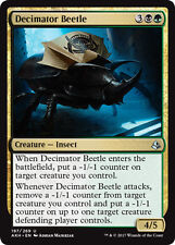 2x Decimator beetle (dezimierender escarabajo) amonkhet Magic