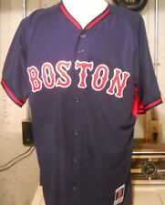 BOSTON RED SOX AUTHENTIC COLLECTION MLB MAJESTIC ALTERNATE BASEBALL JERSEY NWT