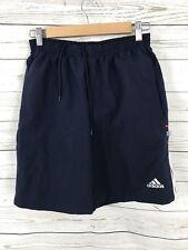 ADIDAS Retro Swim shorts - Small W28- Blue - Great Condition