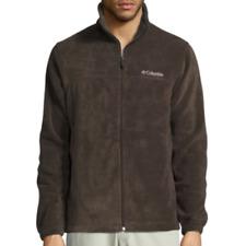 Columbia Men's Flattop Ridge Buffalo Brown Fleece Jacket XM1571-225 Size XL