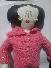 Hand made authentic Tilda rag doll 23 inches high