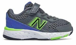 New Balance Infant 680v6 Shoes Grey