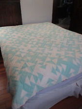 ANTIQUE CALIFORNIA COMFORTER #4B  87 X 75 inches REALLY THICK!