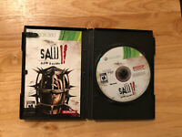 Saw 2 II Flesh & Blood Microsoft Xbox 360 System Game Disc & Manual Only TESTED