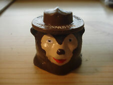 Smokey the Bear ash tray snuffit Car Dashboard Prevent Forest Fires