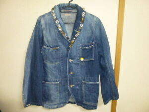 KAPITAL KOUNTRY Country denim processing jacket SIZE:0