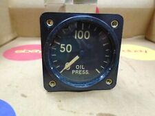 Vintage Northern Engraving Co. Oil Pressure Gauge AN5771-2 NOS