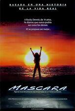 MASK 1985 Cher, Sam Elliott, Eric Stoltz 1-SHEET POSTER