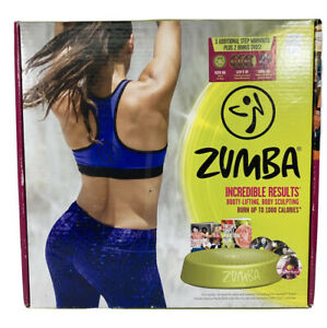 SEALED Zumba Transformation Kit + STEP Rizer and 6 DVDs Workout System- Complete