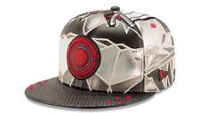 Cyborg Justice League Armor All Over 59Fifty Fitted Hat Cap New Era Ltd Ed 7 1/4