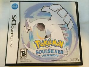 Pokemon Soul Silver Version - Nintendo DS - Replacement Case - No Game