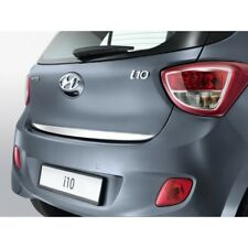 2013Up Hyundai İ10 Chrome Rear Trunk Tailgate Lid Molding Trim S.Steel