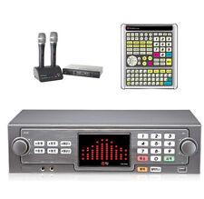 TJ Taijin TKR-365HK Korea Karaoke Machine + 2 Wireless Mic,Big Remote -Fast Ship